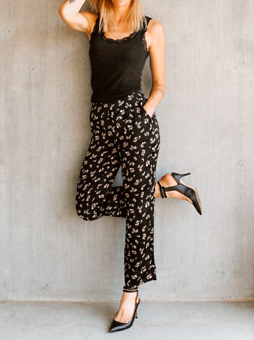 LOVE STORIES Silk Pants