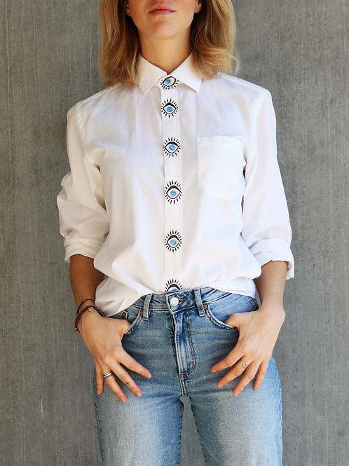 WatchMe White Shirt - Mira Vintage