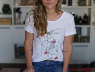 Consultora de vinhos lança linha de camisetas com 50% do lucro revertido à ONGs