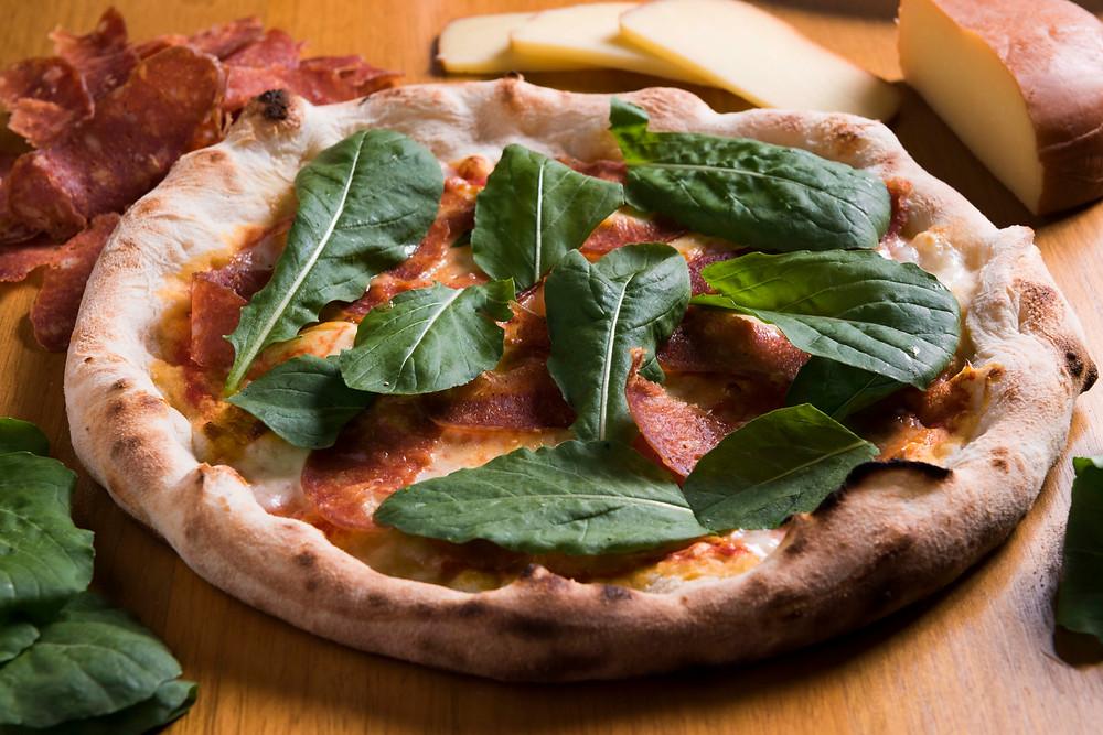 Diávola, da pizzaria Fior de Grano, em Moema