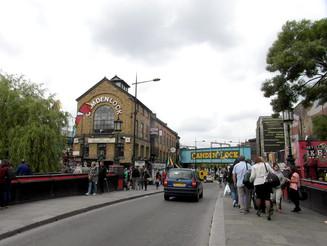 Londres e seus mercados de rua...