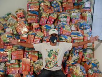 Marilan doa mais de 66 toneladas de produtos para ajudar famílias impactadas pela Covid-19