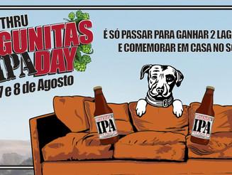 Lagunitas distribui sua famosa IPA em drive-thru para que todos possam celebrar o IPA Day em casa