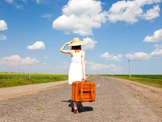 As delícias de se viajar só...