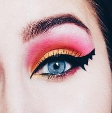 Bat Girl Makeup