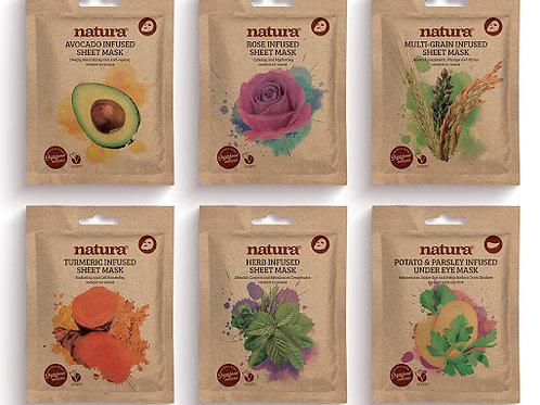 Natura Infused Sheet Masks