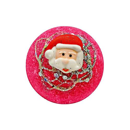 Candy Cane Sparkle Bath Bomb