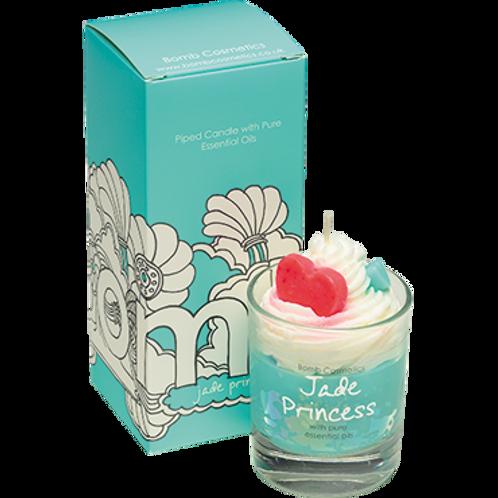 Jade Princess Piped Candle