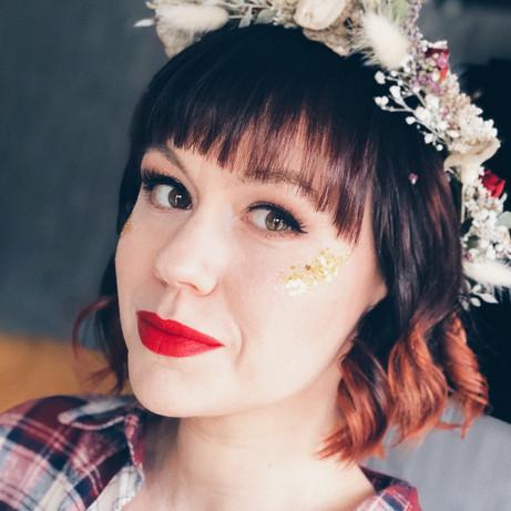 Boho Alternative Bridal Makeup