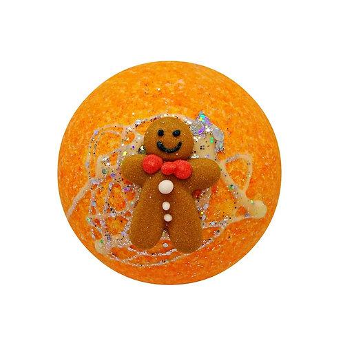Gingerbread Cottage Bath Bomb
