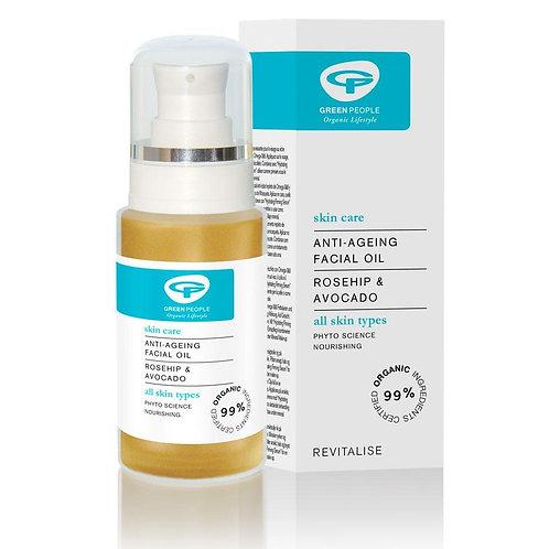 Green People Anti Aging Facial Oil 30ml