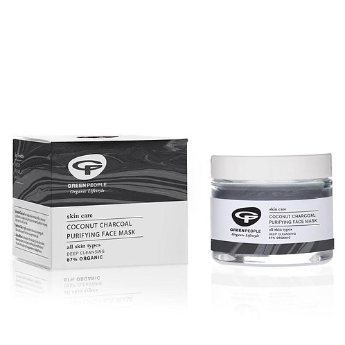 Green People Coconut Charcoal Purifying Mask 50ml