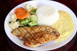$8 Grilled Chicken w/3 sides