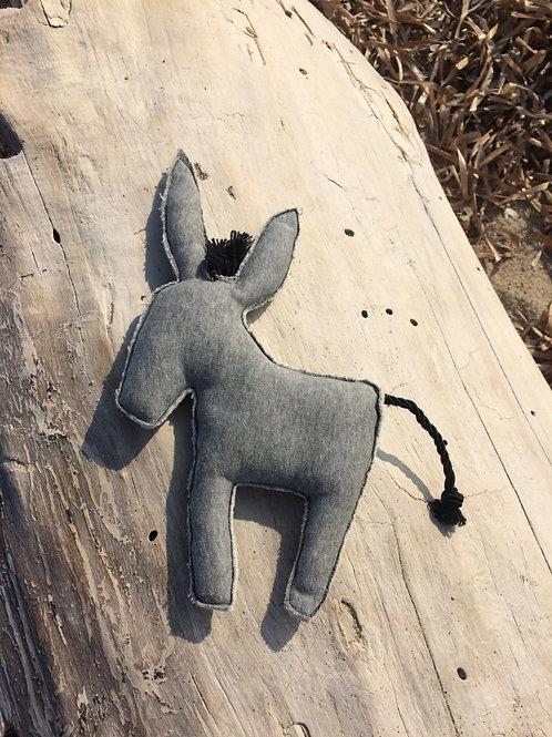 Doudou âne corse | coffret cadeau de naissance corse | Porompompero