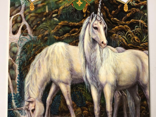 Magical Unicorn Oracle Card Reading