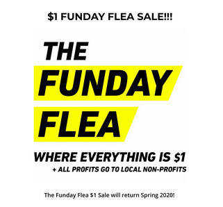 $1 FUNDAY FLEA SALE!!!