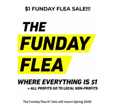 $1 FUNDAY FLEA SALE!!!
