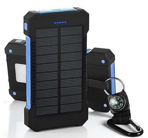 20000mah Solar Power Bank Portable external battery pack Charger Dual USB solar