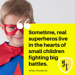 Sometime, real superheros live in the he