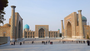 Two of Uzbekistan's Ancient Silk Road Cities - Samarkand and Bukhara