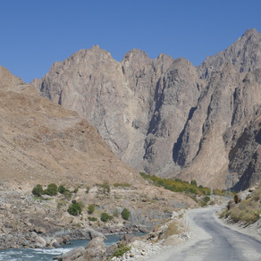 Tajikistan Part 3 - The Final Stretch through the Pamirs to Dushanbe
