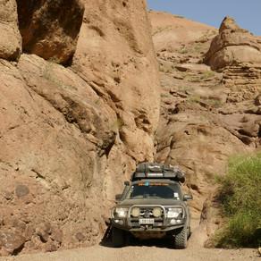 Kazakhstan to Kyrgyzstan- off-road