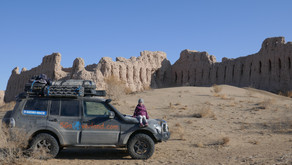 Searching for Sand Castles - Ancient Desert Fortresses of Uzbekistan