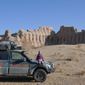 Searching for Sand Castles - Ancient Desert Fortresses of Uzbekistan