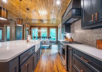 Luxury kitchen in cabin Broken Bow.jpg