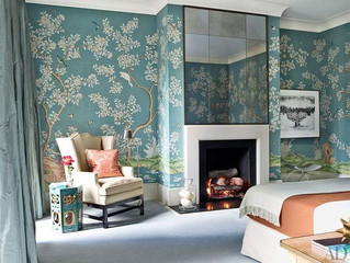 Gracie & de Gournay: Beautiful Wallpaper That Won't Go Out of Style