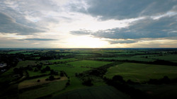Field Sunset Drone Hire