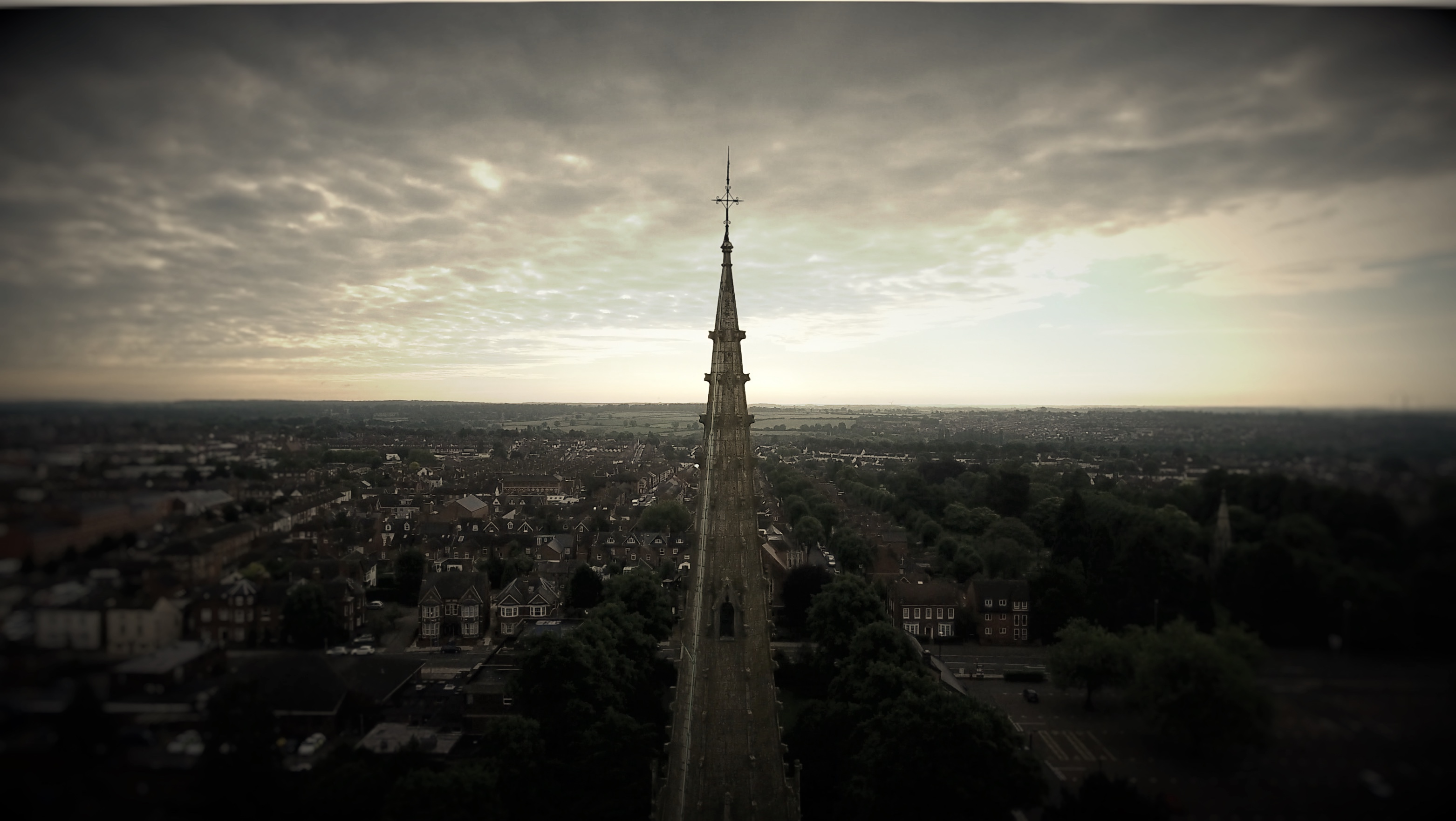 St Peter and St Paul aerial photo