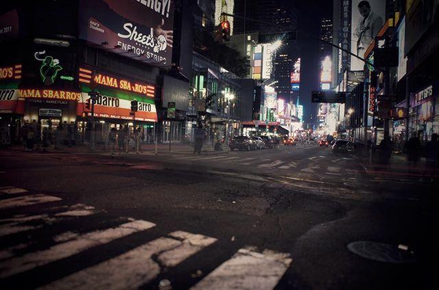 Night shot in New York 2011