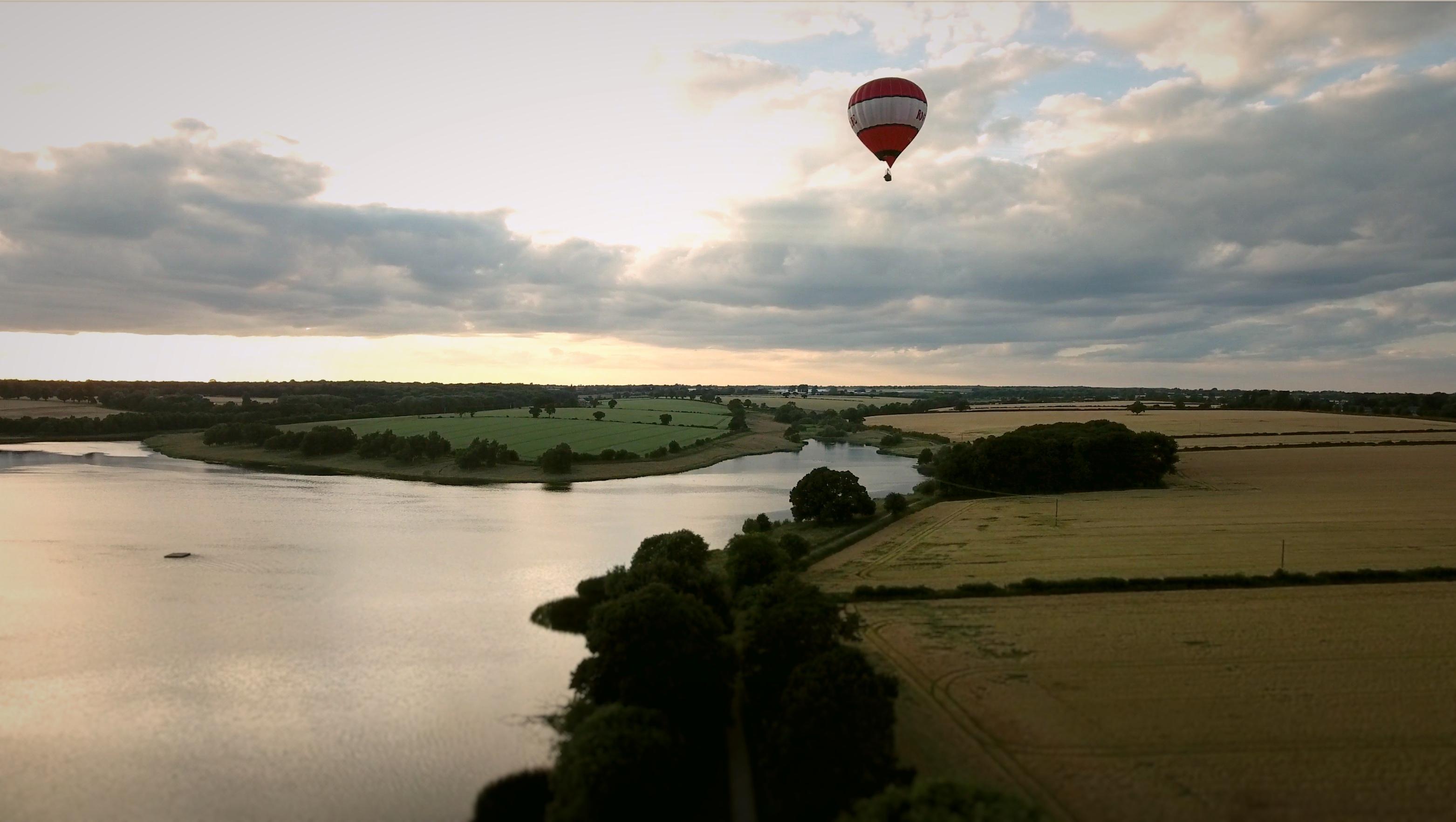 Hot Air Balloon at Sywell