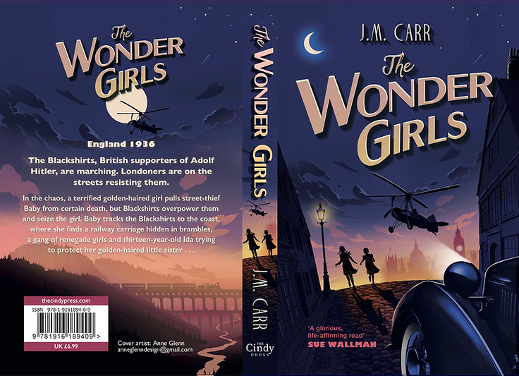 The cover, front and back, of The Wonder Girls