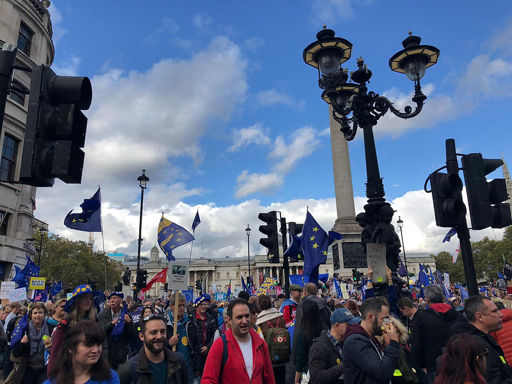 Peoples' Vote March, London 19 October 2019