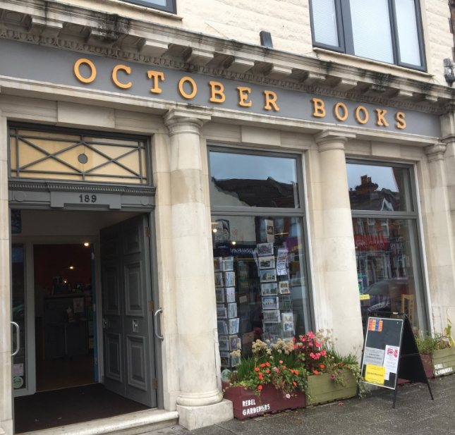 October Books shopfront