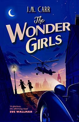 Wonder Girls AMAZON paperback Cover copy