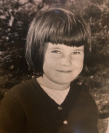 School photo of J.M.Carr ( Janette) at about 7 years old