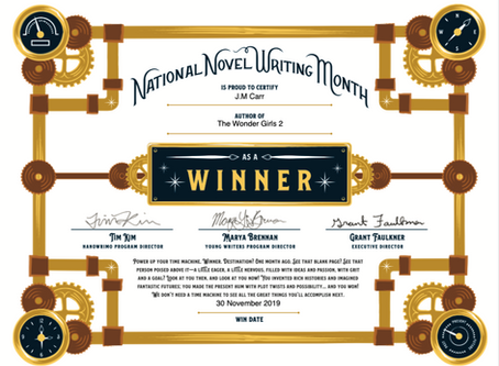NaNoWriMo 2019, The End . . .