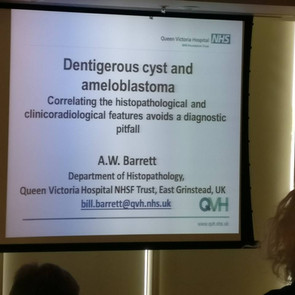 Dr Barrett's interesting and clinically relevant presentation