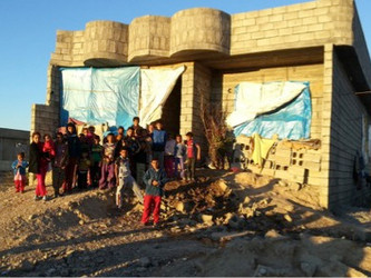 Safe Water in Iraq: ACTED Case Study #4 - Unfinished building, Shakh Langer, Kulagu, Kifri