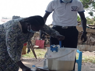 Grifaid Family Filter successfully tested in South Sudan