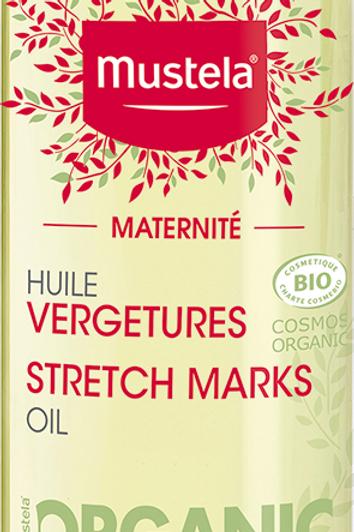 Mustela - 【香港原裝行貨】有機妊娠防紋油
