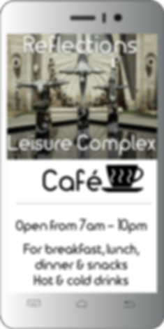WiFi for Leisure Centres, landing page