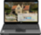 WiFi for B&Bs & Guest Houses, laptop splash page