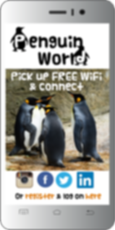 WiFi for Tourist Attractions, zoo splash page