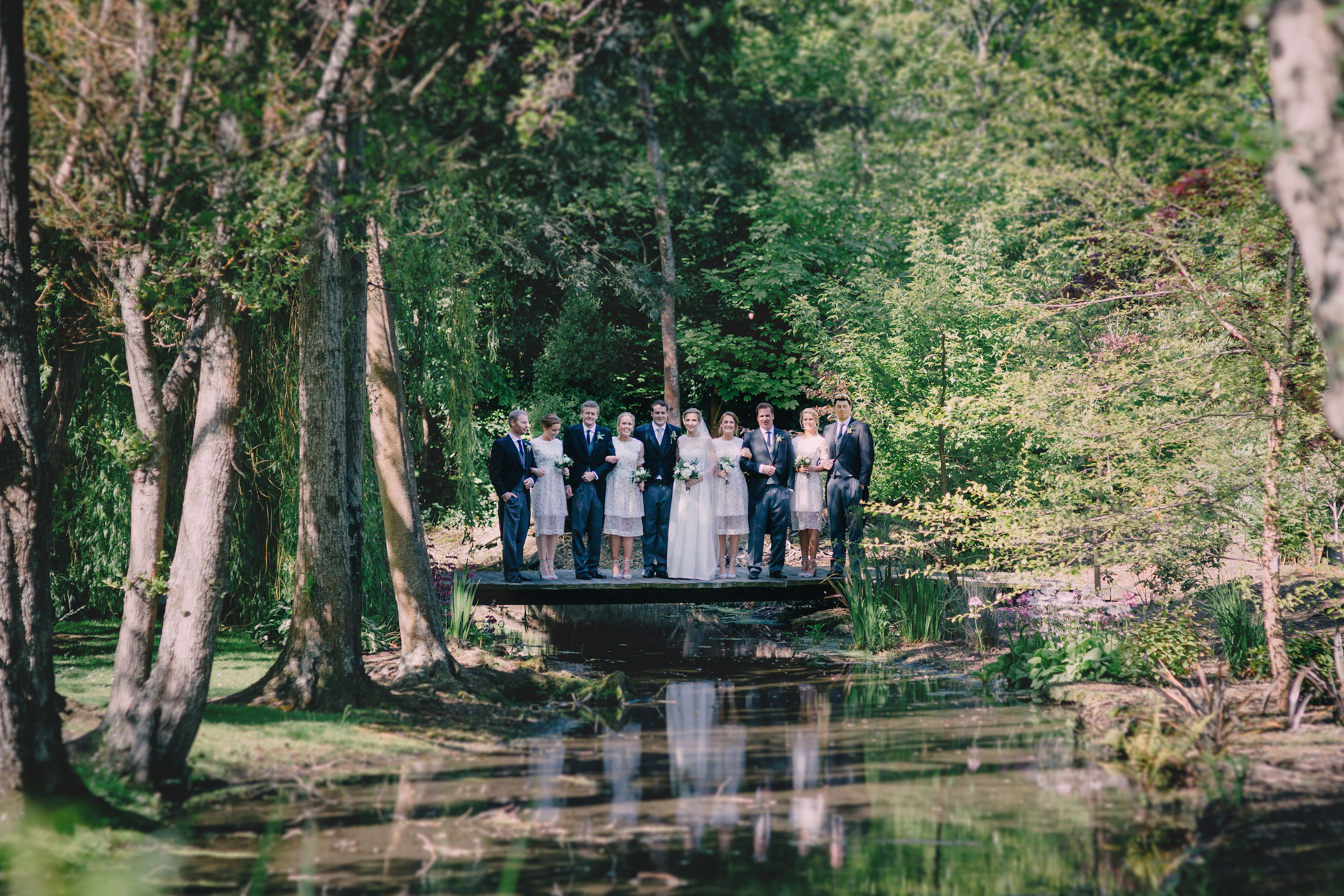 Garden wedding photos