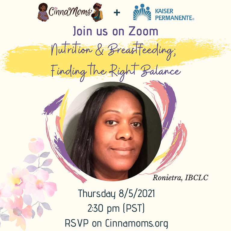 Nutrition & Breastfeeding; Finding the Right Balance