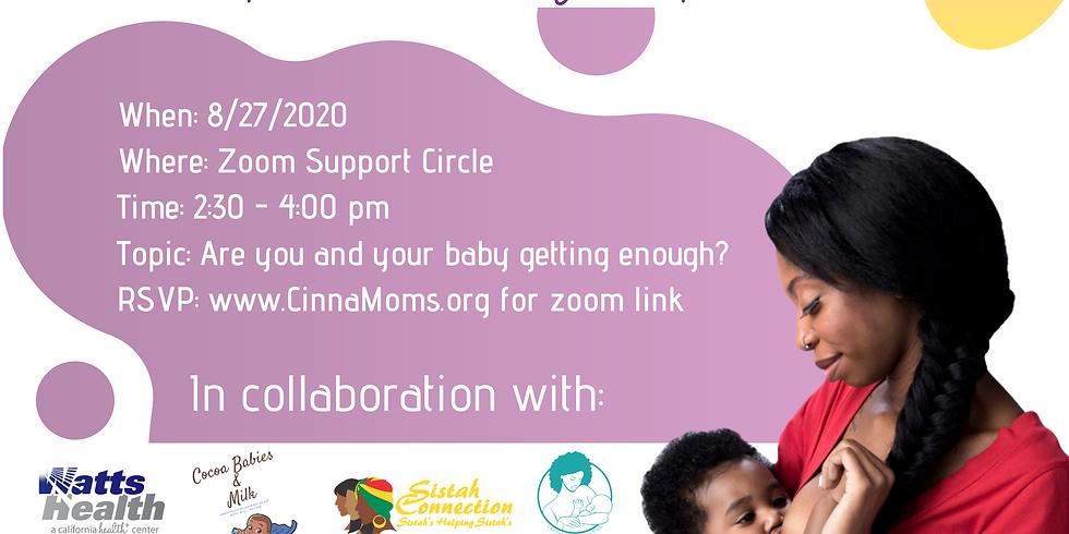 Black Breastfeeding Week Celebration 2020